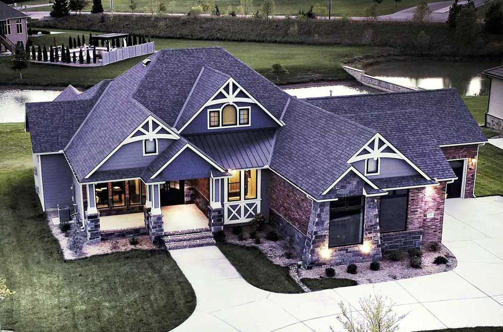 A home built by Tri-M Construction Custom Home Builder